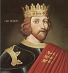 "King Richard I, ""The Lionhearted"""