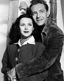 "Hedy and Paul Henreid in ""The Conspirators"""