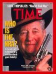 Joe Foss as NRA spokesman