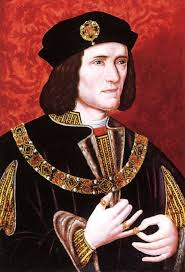 King Richard III: Killed at the Battle of Bosworth Field, the End of the War of the Roses.