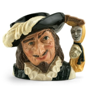 A Royal Doulton mug of Scaramouche