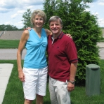 With Cathy Inglese, winningest coach in the history of  Boston College women's basketball.