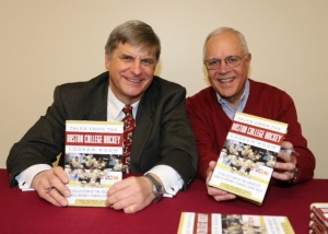Co-authors Tom Burke and Reid Oslin at Book-Signing Event on December 13, 2014