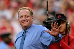 Future baseball Hall of Fame member Curt Schilling