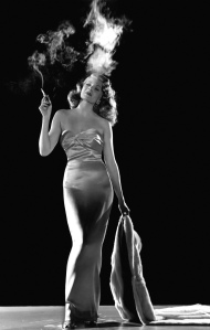 Rita Hayworth as Gilda.